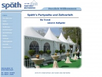 Spaeth-partyzelte.de - Zeltverleih und Partyzelt-Mietservice für Rödermark Hanau Offenbach Frankfurt Wiesbaden Darmstadt und das Rhein-Main Gebiet