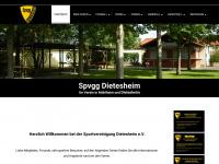 Spvgg-dietesheim.de - Willkommen bei der Sportvereinigung Dietesheim