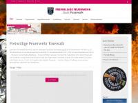 Feuerwehr-pasewalk.de - Die FF Pasewalk stellt sich vor