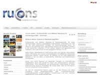 Rucons Global - Business Projekte in GUS