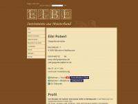 Geigenbaumeister Robert Eibl: Streich- und Zupfinstrumente; Bau, Reparatur, Vermietung und Verleih