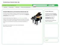 Kostenlose Klaviernoten zum Download