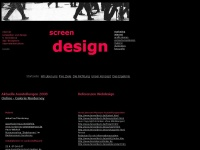 screen design startseite