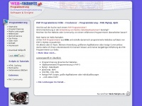 PHP Programmierer in Köln - Programmierung - PHP, MySql, AJAX - Web-Skripte.de