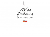 MISS POLONIA in Deutschland - Bisher: MISS POLONIA in Germany