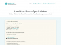 WordPress &amp; Webwork - perun.net