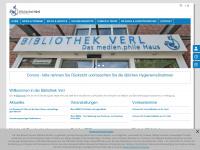 Bibliothek.verl.de - Bibliothek Verl - Das medien.phile Haus
