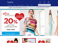 Heine.at - Damenmode, Accessoires, Möbel und Deko im Heine Online-Shop