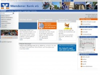 Mendener-bank.de - Mendener Bank eG - Startseite - Mendener Bank eG