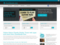 Chordbook.com - Learn Guitar Chords, Scales, Guitar Tuner