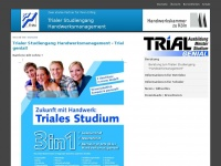 Trialer Studiengang Handwerksmanagement - Trial genial! - Triales Studium