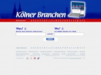 koelnerbranchen.de