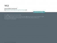 WGI • Wissenschaftliche Gesellschaft für Analytische Intensivbehandlung/Psychotherapie e.V.