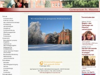 Gymnasium St. Mauritz: leben entdecken