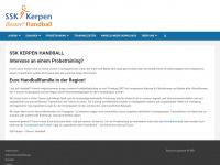 joomla2.ssk-handball.de - Willkommen auf der Startseite