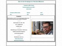 Homepage von Reinhard Meissner Trompeter und Flügelhornist im Heeresmusikkorps 2 Kassel