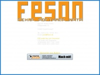 FESON — Fehre Software Nets
