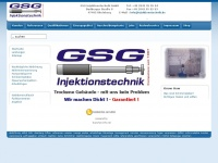 Kellersanierung, Keller trockenlegen, feuchte Keller - GSG Injektionstechnik GmbH