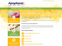 Apopharm.de - Apopharm - Propolis - Gelee Royale - Bl&uuml;tenpollen - Imkereibedarf - Imkerreiniger - Bienenkosmetik -  Honigs&uuml;ssigkeiten - Honigspezialit&auml;ten - alles f&uuml;rs Zusatzgesch&auml;ft