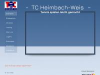 Tennisclub Heimbach-Weis e.V.- Herzlich Willkommen!