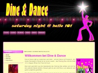 Dine-and-dance.com - Dine & Dance - saturday night @ halle 101