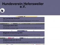 hundeverein-hefersweiler.de