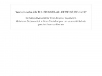 Thüringen Nachrichten - Zeitung aktuell | Thüringer Allgemeine