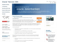 Remote-dba.info - Oracle Remote DBA  ein Service von ASPICON | Oracle Certified Advantage Partner