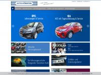 Auto Förster GmbH in Dohna bei Dresden - Chevrolet Autohaus, freie Kfz Werkstatt