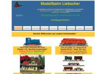 Modellbahn-liebscher.de - Start