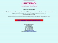 URTENO - internationaler Warenhandel - Rest- u. Sonderposten