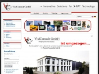 Cms.visiconsult.de - VisiConsult GmbH - Imaging and Automation