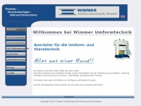 wimmer-umformtechnik.de Thumbnail