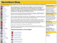 Sprachkurs Shop - Sprachen lernen - Sprachkurse auf CD Rom - Sprachkurse bestellen - Sprachkurs CD