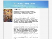 Lauretanische-litanei.de - Die Lauretanische Litanei - Erläuterungen