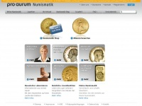 pro aurum Numismatik | pro aurum Numismatik Deutschland