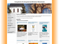 Evangelische Kirchengemeinde M&uuml;llenbach-Marienheide: Startseite