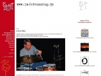 www.jazzdrumming.de - the website of Ernst Bier