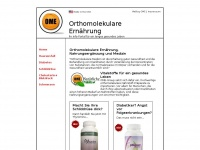 Orthomolekulare-ernaehrung.eu - Orthomolekulare Ernährung - Portal für langes und gesundes Leben
