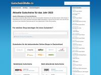 Aktuelle Gutscheine für das Jahr 2015 | GutscheinWelle.de