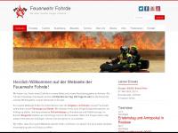 Freiwillige Feuerwehr Fohrde - Wir retten, löschen, bergen, schützen .... seit 1909! › Feuerwehr Fohrde
