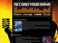 ROLAND :: Record Your Band :: Home