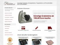 Grabsteine exklusiv und guenstig, deutschlandweit.  - Könemann Laser-Natursteintechnik