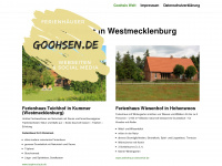 Goohsis Welt - meine ultimative Startseite
