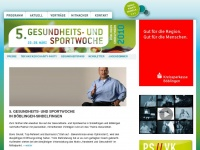 5. Gesundheits- und Sportwoche B&ouml;blingen-Sindelfingen