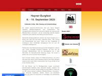 Hayner Burgfest - Start