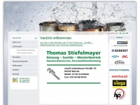Thomas Stiefelmayer - Heizung - Sanitär - Meisterbetrieb