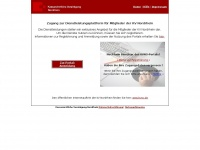 Kvnoportal.de - KVNO-Dienstleistungsplattform