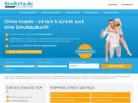 Kredit1a.de - Kredit Portal - Kredite auch ohne Schufa online