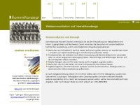 Kommkonzept - Startseite